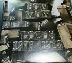 ジャパメタ ベストCD BOW WOW LOCUS1976-1983 バウワウ