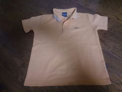 130 COMME CA ISM オレンジのポロシャツ 美品
