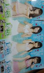 AKB48 アイドルとグアムで恋したら 水着ポスター 未使用新品 非売品
