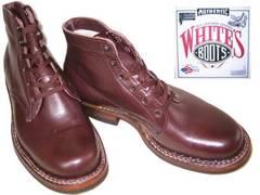 ホワイツ ブーツ ビブラムソール2332Wセミドレス黒チェリ7.5
