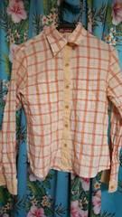 ココルルバクプリチェックシャツM