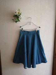 Free's Mart☆フレアストレッチデニムスカート