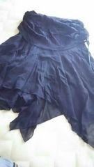 フリルミニ丈スカート