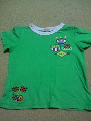 ミキハウス半袖Tシャツ美品110�p