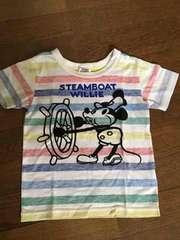 ジャンクストア!半袖Tシャツ!120サイズ!ミッキー!