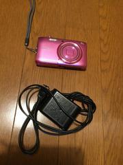 美品 PINK色 デジタルカメラ!