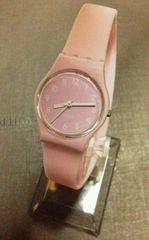 ★正規品★ Swatch レディース腕時計 ピンク 二重巻き 美品