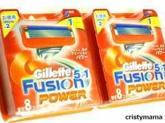Gillette<ジレットフュージョン5+1パワー>替刃16コ