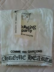 COMMEdesGARCONSTシャツサイズMCHROMEHEARTSコムデギャルソンクロムハーツ限定青山