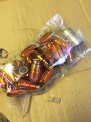 軽量 アルミ ロックナット 20本セット オレンジ