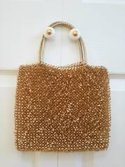 アンテプリマ ワイヤートートバッグ 美品 ゴールド