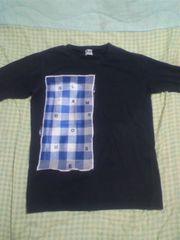 AHアバハウス 黒チエックTシャツ