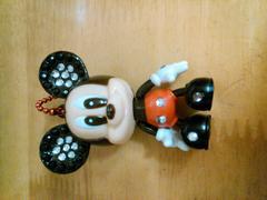 新品☆限定ミッキーマウス☆デコキーホルダー