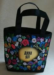 ANNA SUI★ショッパー柄バッグ