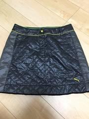 プーマゴルフ防風スカート黒