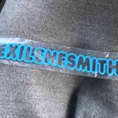 EXILE THE SECOND 会場限定ガチャ ゴムブレス NESMITH