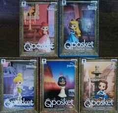 ディズニー Characters Qposket petit 5種セット Disney