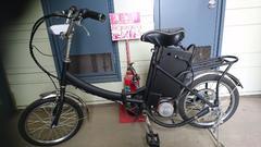 超激安!近日出品終了予定・フル電動自転車・新品バッテリー付き