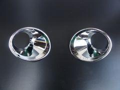 BMW クロームメッキフォグライトリング ランプリム ランプカバー X1 E84