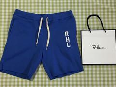 新品 ロンハーマン RHC スウェットショーツ Sサイズ ブルー