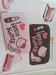 ハローキティ(HELLO KITTY) 長ウォレット(長財布)[ラブ] ピンク