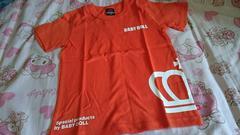 �Aベビド    シルエットTシャツ   オレンジ   120   新品