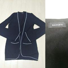 エゴイスト カーディガン ブラック M