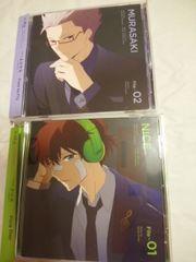 ハマトラ キャラクターファイルシリーズ全6種セット+非売品トークCD神谷浩史 福山潤他