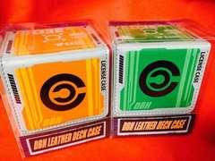 ドラゴンボール カードデッキケース 2種セット マグネット式 グリーン&オレンジ