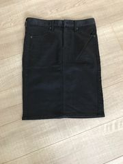 GU新品未使用スカートS黒タイト