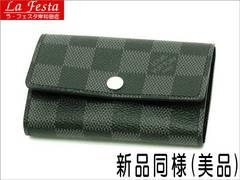 本物新品同様◆ヴィトン【ダミエグラフィット】6連キーケース箱