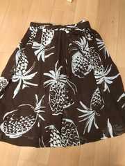 美品 ワールド製、夏物フレアースカート