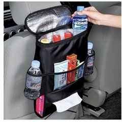 ★とっても便利★ 車用 保冷バッグ PET4本 ポケット3つ