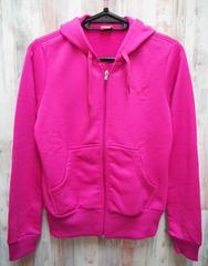 PUMA プーマ スウェットジャケット ジップパーカー S/ピンク