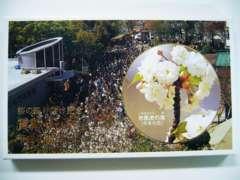 平成9年・1997年 桜の通り抜け「市原虎の尾」ミント貨幣セット