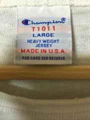 米国製 チャンピオン T1011 Tシャツ 白 USA