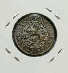 ★ 海外 ★ 1スタ オランダ 1セント 1963年 ビンテージ古銭 送無