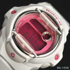 カシオ『GBaby-G』 レディGショッグ/ビビットカラーBG-169R