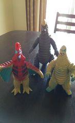 ウルトラマン怪獣 3つまとめて