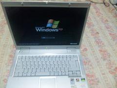 美品PC-WA70K メモリ-256MB HDD40G スーパーマルチ 15.4インチ光沢液晶