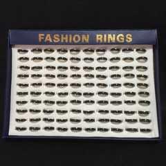 新品男女兼用ファッションリング指輪 大量1ケース100個特価品