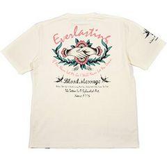 ブラッドメッセージ/Tシャツ/ホワイト/blst-940/エフ商会/テッドマン