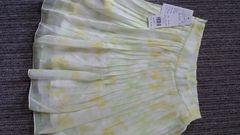 セシルマクビー/CECIL McBEEパステルフラワー柄プリーツスカート