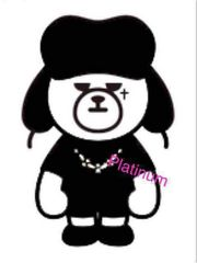【送料無料】BIGBANG KRUNK〈G-DRAGON〉・ステッカー・縦約10�p