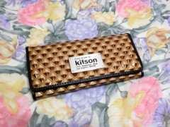 ●○ 送料無料 美品! (kitson) キットソン/長財布 ○●