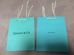 正規品Tiffanyティファニー紙袋ショップ袋2枚セット