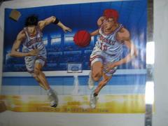 SLAM DUNK ポスター(桜木花道/流川楓)+おまけ スラムダンク