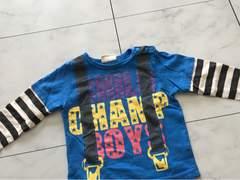 CHILD CHAMP長袖Tシャツ★80cmチャイルドチャンプ