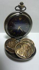 ドラゴンクエスト ロトのしるし懐中時計&強敵メダル4枚