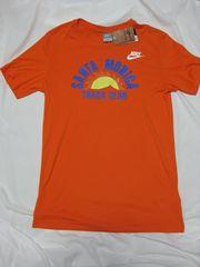 ◆NIKE(ナイキ)サンタモニカトラッククラブ/Tシャツ/84年復刻/L/オレンジ/新品/カールルイス